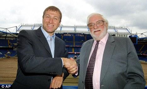 Ken Bates sells Chelsea to Roman Abramovich.