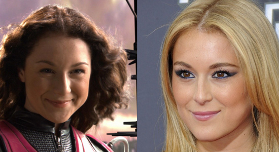 Alexa Vega - Then and now.