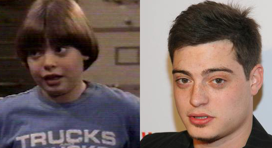 Andrew Lawrence - Then and now.