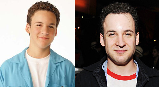Ben Savage - Then and now.