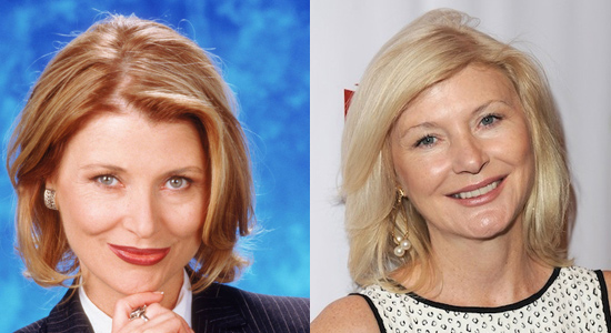 Beth Broderick - Then and now.