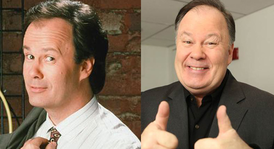 Dennis Haskins - Then and now.