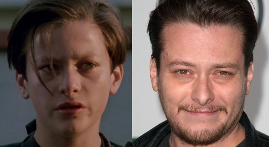 Edward Furlong - Then and now.