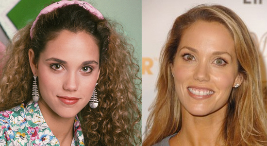 Elizabeth Berkley - Then and now.