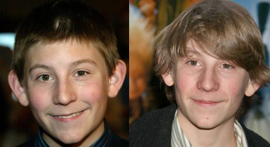 Erik Per Sullivan - Then and now.