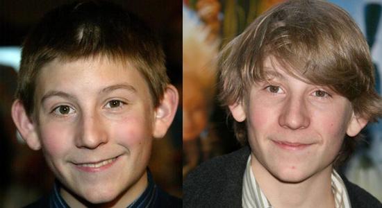 Erik Per Sullivan - Then and now.
