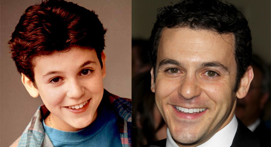 Fred Savage - Then and now.