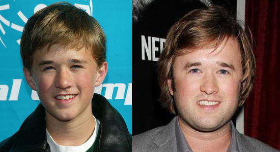 Haley Joel Osment - Then and now.