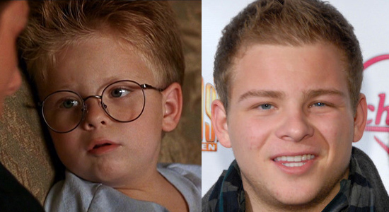 Jonathan Lipnicki - Then and now.