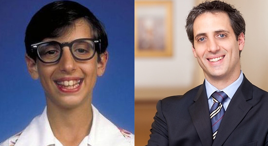 Josh Saviano - Then and now.