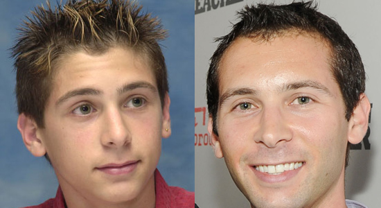 Justin Berfield - Then and now.