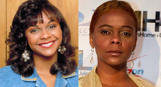 Lark Voorhies - Then and now.