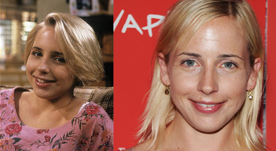 Lecy Goranson - Then and now.