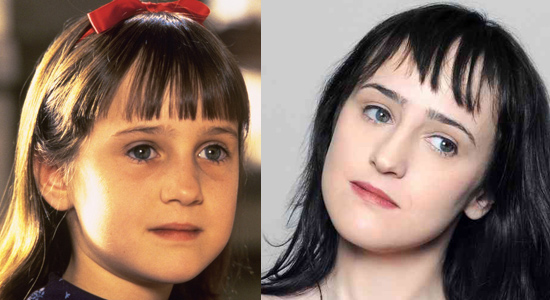 Mara Wilson - Then and now.