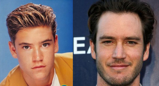 Mark Paul Gosselaar - Then and now.