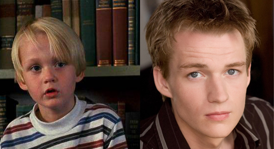 Mason Gamble - Then and now.