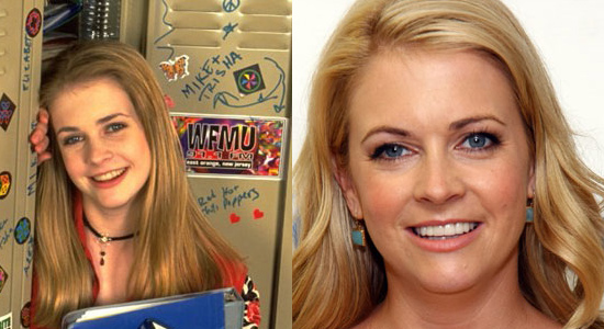 Melissa Joan Hart - Then and now.