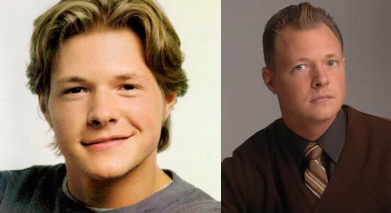 Nate Richert - Then and now.