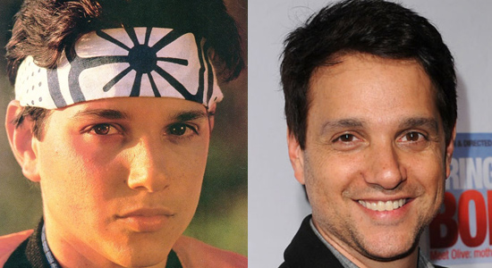 Ralph Macchio - Then and now.