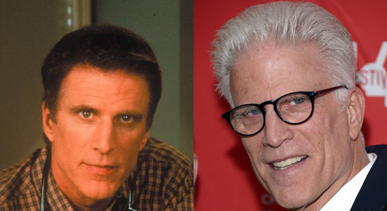 Ted Danson - Then and now.