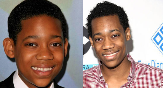 Tyler James Williams - Then and now.