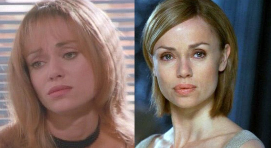 Vanessa Angel - Then and now.