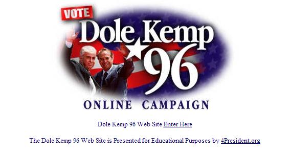 Bobe Dole Website