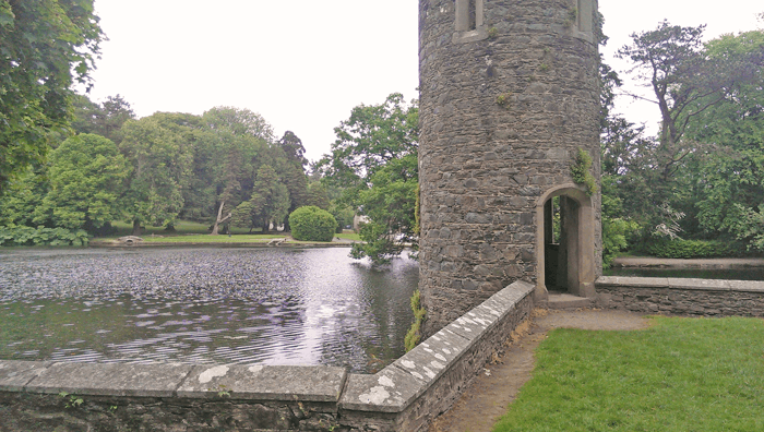 Lake at Johnstown Castle in Wexford.