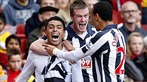 West Brom vs Arsenal