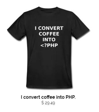 Coffee PHP