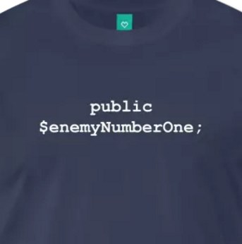 Programming - Public Enemy Number One