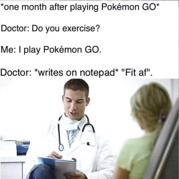 Pokemon Go Fit