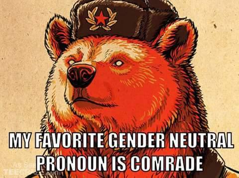 gender neutral comrade