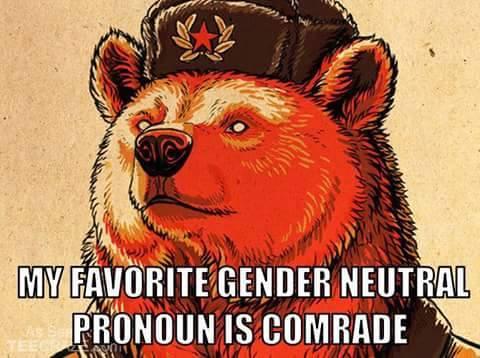 gender neutral comrade
