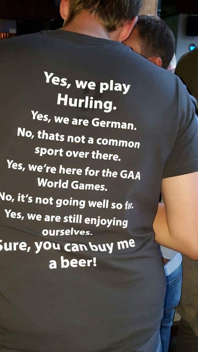Germans GAA T-shirt