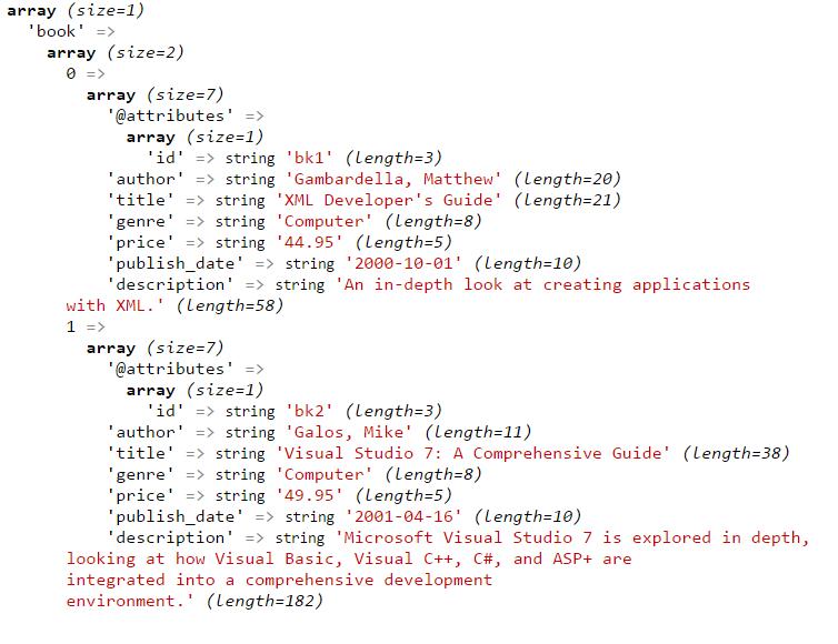PHP: Convert XML into JSON