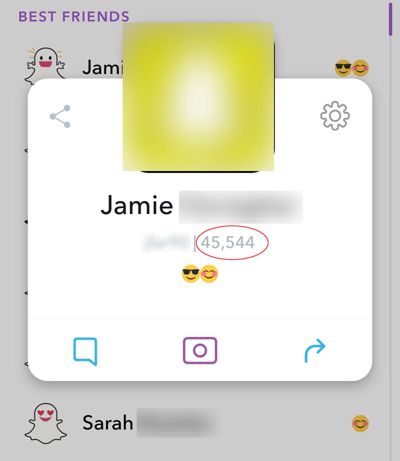 Snapchat Unfriend