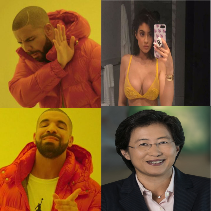 Lisa Su - Drake Meme