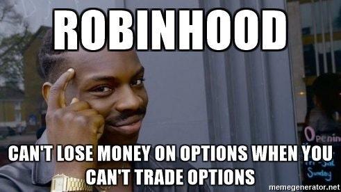 robinhood options funny stock market memes