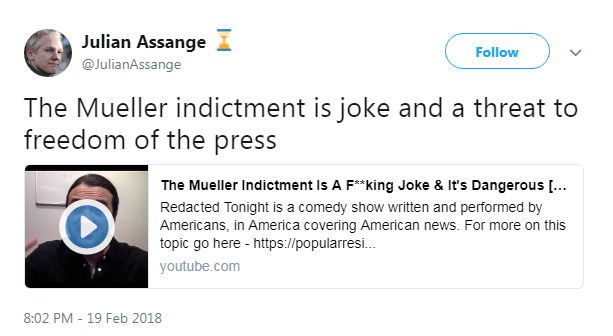 julian assange youtube