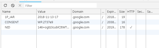 Adding and modifying cookie values in Chrome Developer Tools