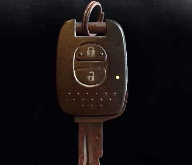 Bent Key Resident Evil 2