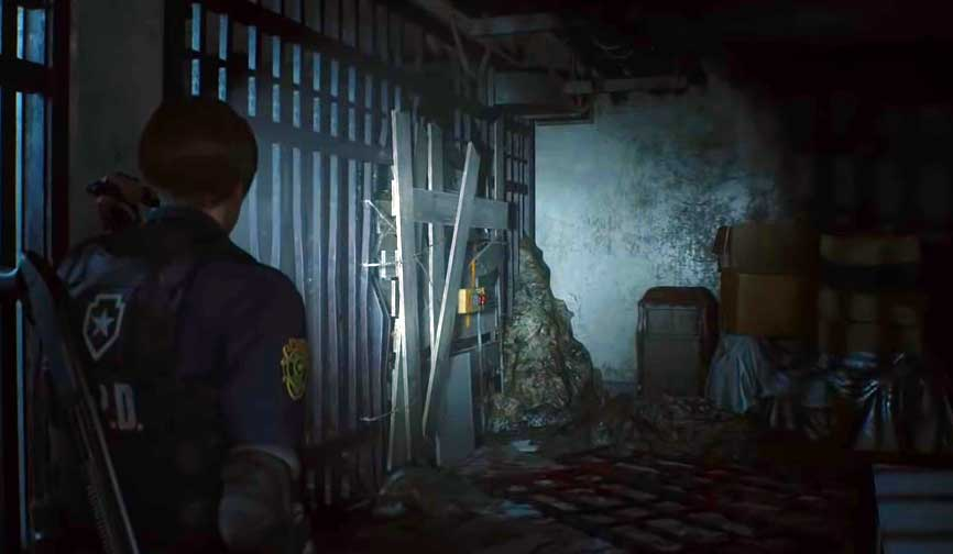 Resident Evil 2: Solving the lion, maiden, and unicorn