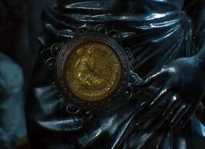 Maiden Medallion.