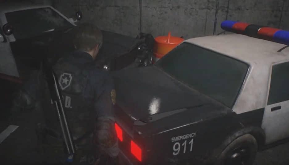 Police Car Resident Evil 2