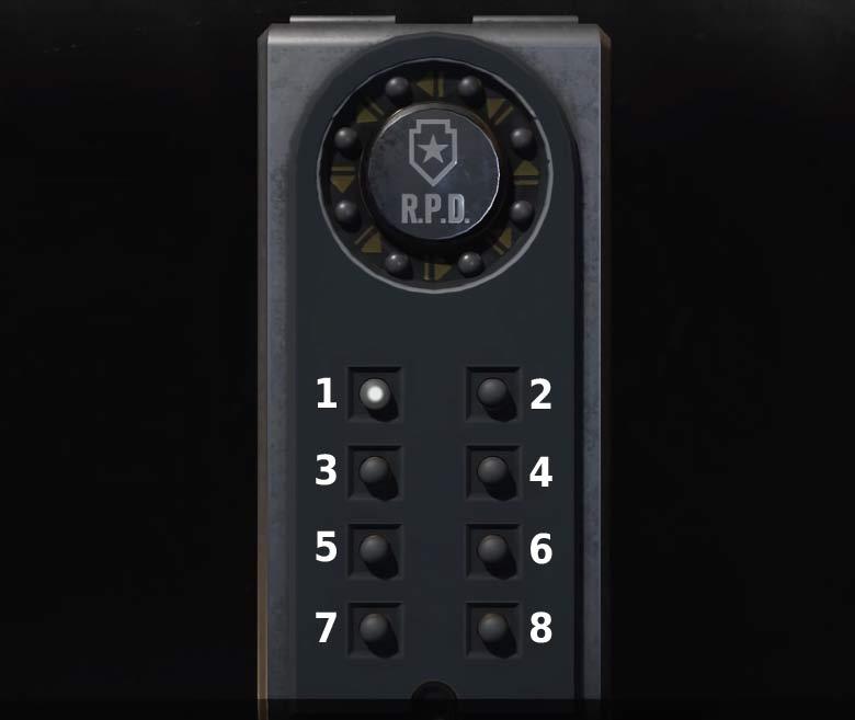 Portable Safe - Resident Evil 2