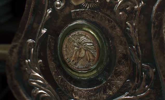 Unicorn Medallion