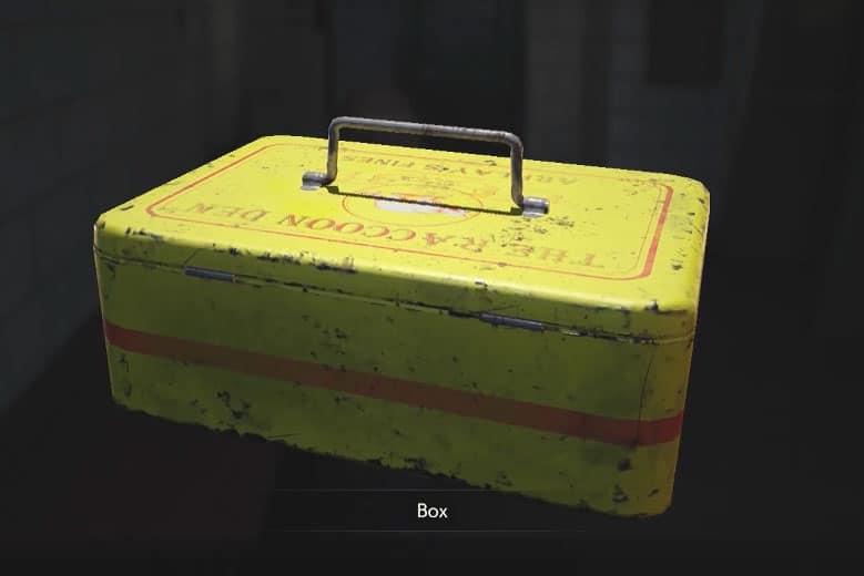 Yellow Box - Resident Evil 2