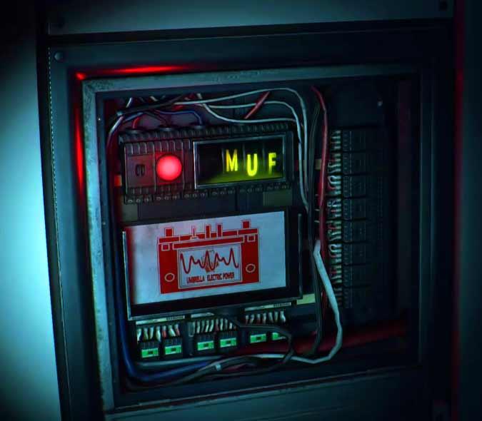 Electronic Panel - Resident Evil 2