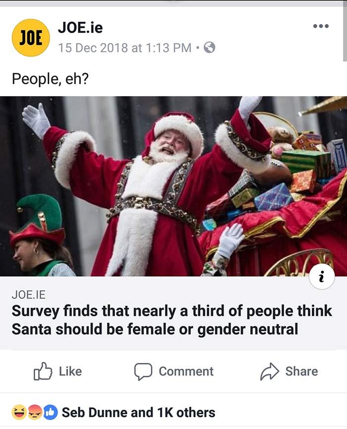 Gender Neutral Santa